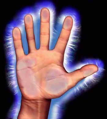 энергия рук человека
